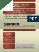 Caso Clinico Iam