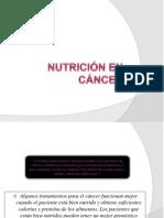 Nutrición en cáncer