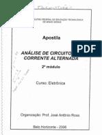 Apostila Circuitos Corrente Alternada CEFET MG Eletronica 2o Mod 2006
