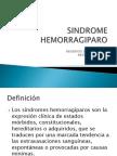 Sx Hemorragiparo