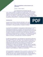 El desarrollo sostenible el metabolismo socioeconómico y la colonización de la naturaleza
