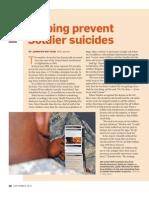 September Tool Kit Suicide Prevention