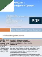 MO 2012Gs I Management Principles