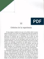 Dewey J. Experiencia y Educacion. Cap 3