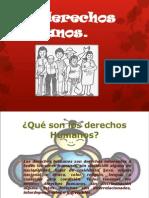 Diapositivas de Los Derechos Humanos