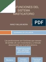 Parafunciones Del Sistema Masticatorio