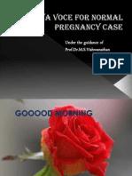 Viva Voce for Normal Pregnancy