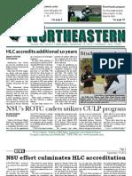 The Northeastern - September 19, 2012