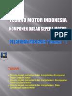Komponen Dasar Sepeda Motor (Tahap I)