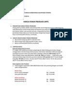 Pengertian Harga Pokok Produksi Dan Unsur Unsur Harga Pokok Produksi