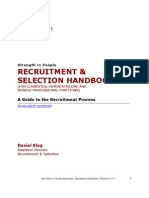 Recruitment Handbook