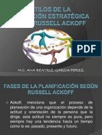 Estilos de Planeacion Rusell-Ackoff