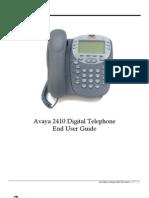 Avaya 2410 User Guide