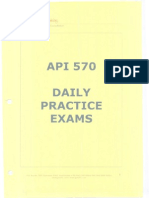 API 570 Daily Practice Exams