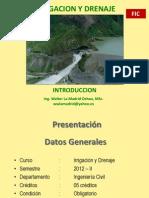irrigacion y drenaje introduccion