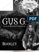 Gus g Interactive Booklet