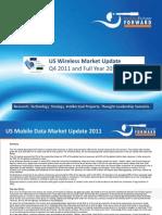 US Wireless Market Q4 2011 Update Mar 2012 Chetan Sharma Consulting