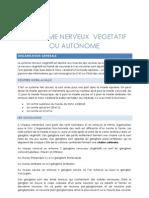 Weber -Système nerveux végétatif
