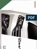 All New Honda CRV 2012 BROSUR - HARGA - SPESIFIKASI