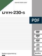 Pioneer DVR 230 s