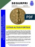 Boletin informativo UCSP nº38 (Segurpri)