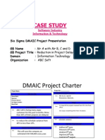 Case Study 3 Software Industry IT Six Sigma Project