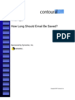 E Mail Archiving from Symantec