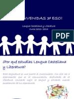 PRESENTACIÓN DE LA ASIGNATURA 3º ESO