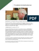 Entrevista a Rafael Ramírez, Presidente de PDVSA