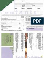 Bulletin FCPE 2011-2012