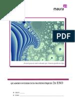 Quadern de 2n ESO de matemàtiques per l'IES Antoni Maura
