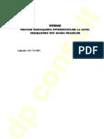 CD 173 - 2001 Amenaj Inters La Nivel Negiratorii Din Afara Orasului