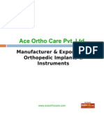 Ace Ortho Care Pvt. Ltd