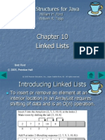 10. Linked Lists