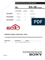 Service Manual Kp-53sv85t