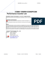 BTS3900 V200R013C00SPC300 Performance Counter List