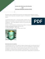 Determine the Maximum Dry Density