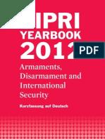 SIPRI Yearbook 2012 Kurzfassung auf Deutsch