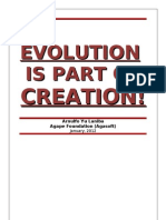 Evolutionists and Creationists Partly Right and Partly Wrong