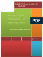 Modelos de desarrollo tecnológico