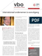 Internationaal ondernemen is vooruitgang, Infor VBO 28, 20 september 2012