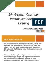 SEDA Export Presentation