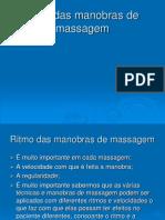 ritmo, técnicas de massagem e hidromassagem