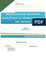 AULA 01 Medidas Em Quimica Analitica