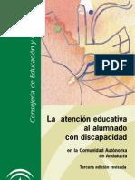 Atencion Educativa Al Alumnado Con Discapacidad