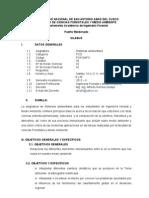 FO610AFO Silabo Sistemas Ambientales 2012 II