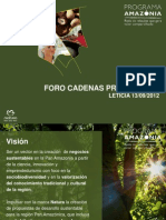 Programa Amazonia de Natura Cosméticos