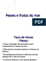 Aula de Peixes e Frutos Do Mar