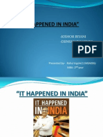 It Happened in India_book Review