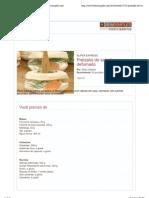 Pretzalej de salmão defumado | Receitas | Bemsimples.com